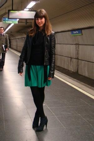 Green colcci dresses black bershka boots black pimkie - Miss sixty madrid ...