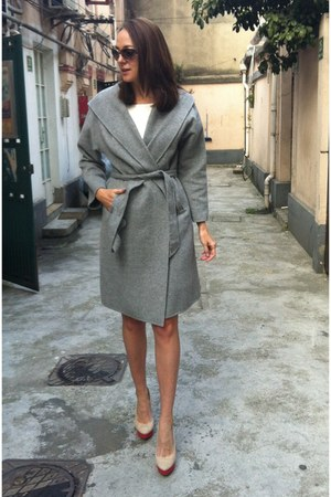Heather Gray Hooded Cape Zara Jackets Quot Hooded Cape Quot By