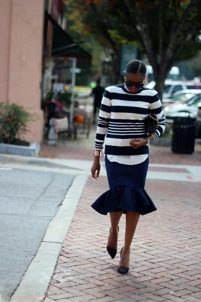 AWED BY MONICA: PAIRED PERFECT WITH A PEPLUM