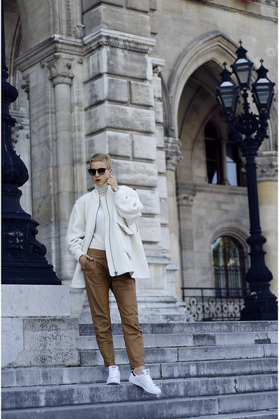H&M Studio AW14 White jacket