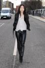 Zara Leather Pants Women