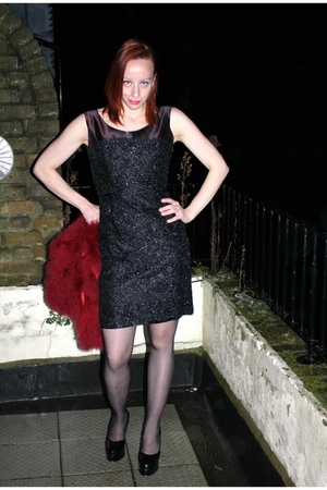 Black Vintage Dresses Black M Amp S Stockings Demonia Shoes