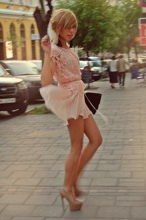 Black Raus Purses Light Pink Raus Dresses Black Raus