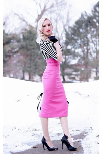 Pop of Pink in Winter
