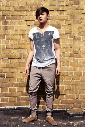 Men 39 s primark ts shirts pull bear shoes topman jeans for Bear river workwear shirts