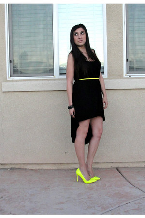 light yellow shoemint heels black dresses light yellow
