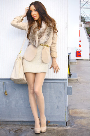 Nude H Amp M Tights Beige Forever 21 Dresses Tan H Amp M Blazers
