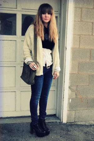 Cream Sweaters