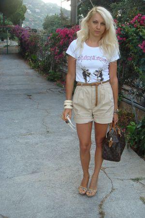 Dsqaured2 Ts Shirts Zara Shorts Gianmarco Lorenzi Shoes
