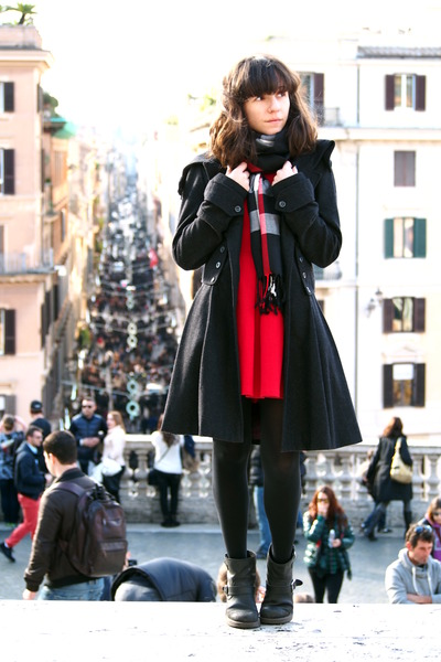 On The Spanish Steps