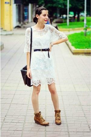 PVC Lace Front Dress