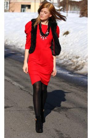 Red Dress Primark Dresses Vintage Boots Topshop Necklaces  &quotMy ...