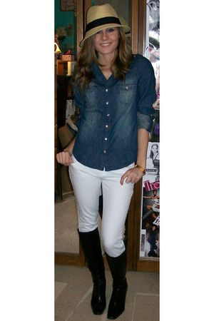 White Wet Seal Jeans Blue Wet Seal Shirts Black