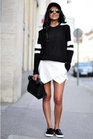 Black Sporty Zara Sweaters Black Lunch Zara Bags White