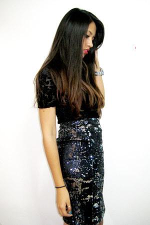 Zara Sequin Blouse 41
