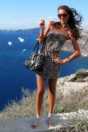 prada handbags outlet online - Leopard Print Dresses, Black Prada Bags, Tan Mirror Belts, Beige ...