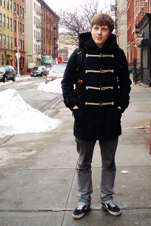 mens blue american eagle coats gray emerica jeans black