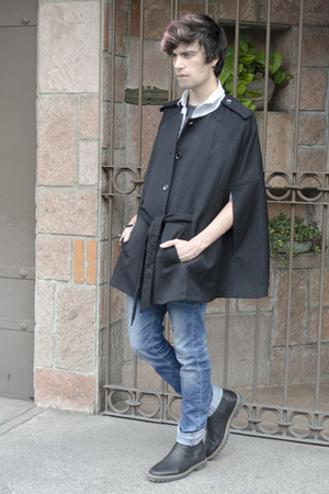 Men S H Amp M Capes Pull Amp Bear Boots Zara Jeans Asos Shirts