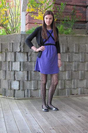 Purple American Apparel Dresses, Black Tights, Black ... | 300 x 450 jpeg 43kB