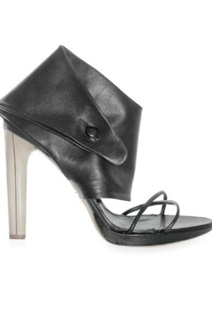 NAPPA WIDE ANKLE STRAP SANDALS