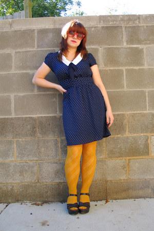 Navy Forever 21 Dresses, Mustard Patterned Forever 21 ...