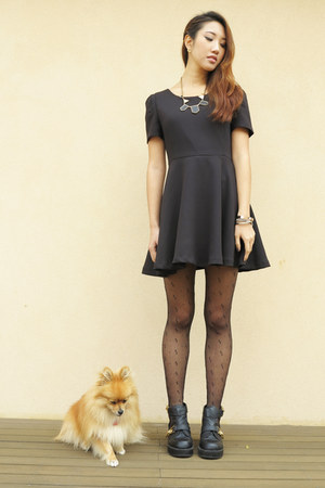 Shoe Show Boots, Stylenanda Dresses, Sisters Stockings | Dog > Dress by Kine | Chictopia