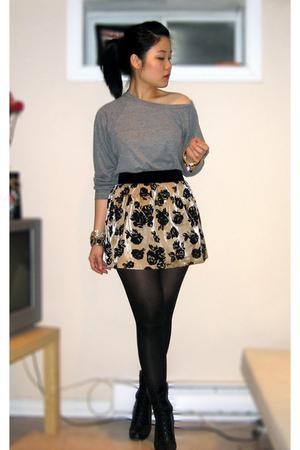 Black And Gold Skirt 103