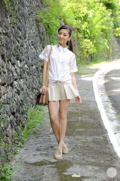 White and Khaki