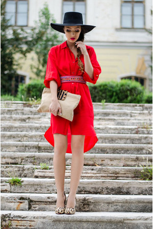 Red Zara Dresses 7ea995023c1