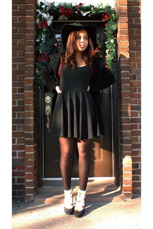 Black Black Knit DIY Dresses, Black Black Wool Hilary ...