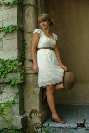 White Charlotte Russe Dresses, Brown