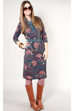 dress vintage goldworm