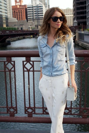 Jean Shirts Womens