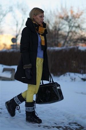 Black Moon Boot Boots Black Zara Coats Black Puma Bags