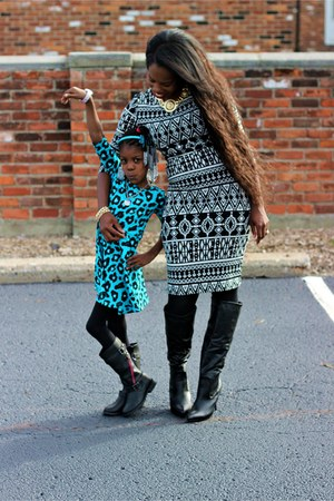 how to wear knee high boots with dresses