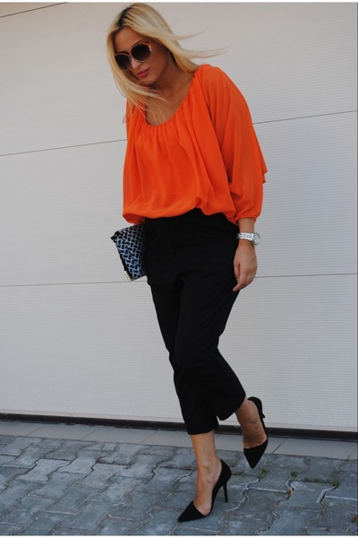 COS blouse - Zara shoes - COS pants