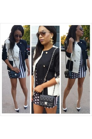 Chanel Bags Neiman Marcus Blazers Asos Heels Earrings By Pompsociety Chictopia
