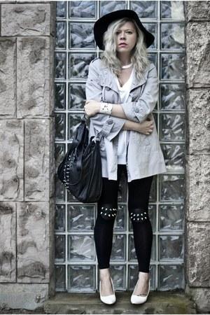 Black New Look Hats, Silver Orsay Coats, Black Choies ...