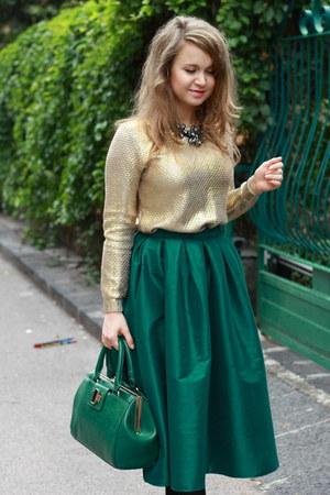 Dark Green Choies Skirts Quot Green Midi Skirt Quot By
