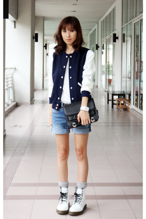 White Shoes Spring Dr Martens Boots, Navy Mood & Closet Jackets ...