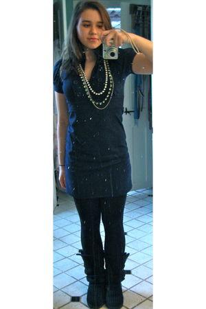 Black Forever 21 Leggings Blue Tj Maxx Dresses Black Ugg