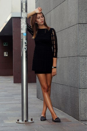 Topshop Flats  &quotLittle black dress&quot by Teapoljak  Chictopia