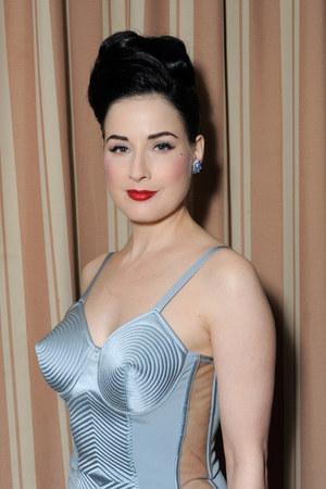 Sky Blue Silk Jean Paul Gaultier Dresses