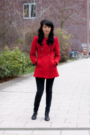 Black Red Coat