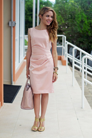 Light Pink Vince Camuto Dresses Peach Justfab Bags Gold Dolce Vita Heels Quot Blush Pink Quot By Yuli5 Chictopia