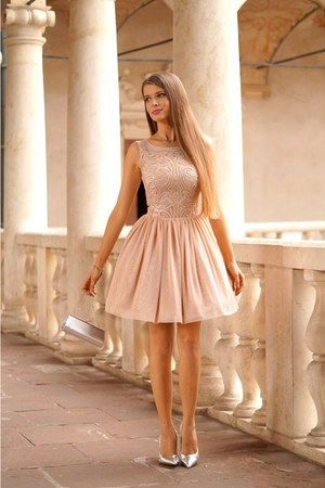 Peach Illuminate Dresses Quot Romantic Dress Quot By Zoyaa