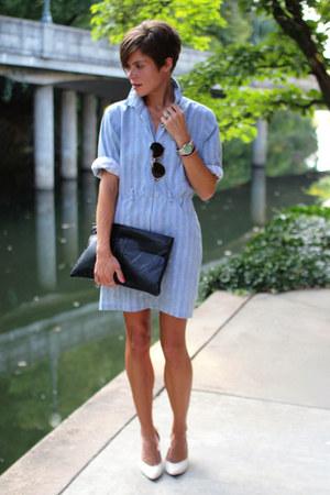 Black Bags Light Blue Dresses White Heels Quot Jump Dress