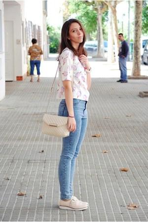 Light Pink Bershka Shoes Teal Pull u0026 Bear Jeans Light Pink CNdirect Shirts | u0026quot;Sweet outfitu0026quot; by ...