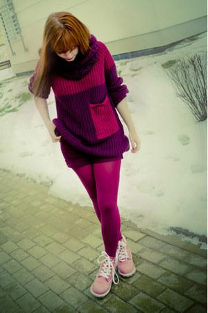 Pink Sweater Dresses