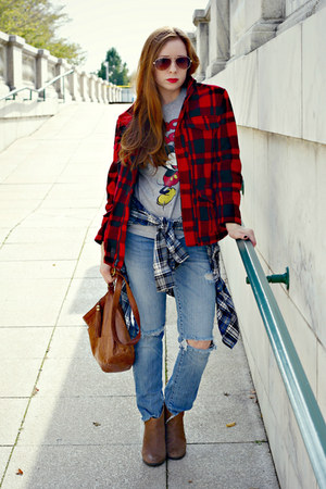 Distressed Jeans, Buffalo Plaid Jackets, Shirts, Mickey ...